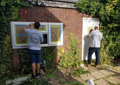 Spraying Garage Door Cost York