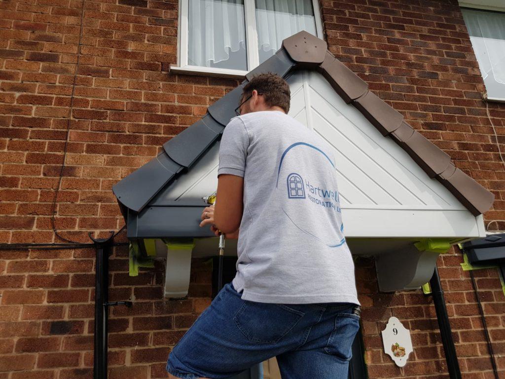 Front Door Spraying in York