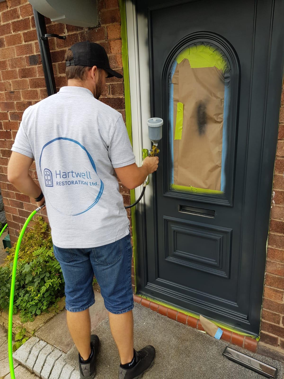 Grey Door Spraying York