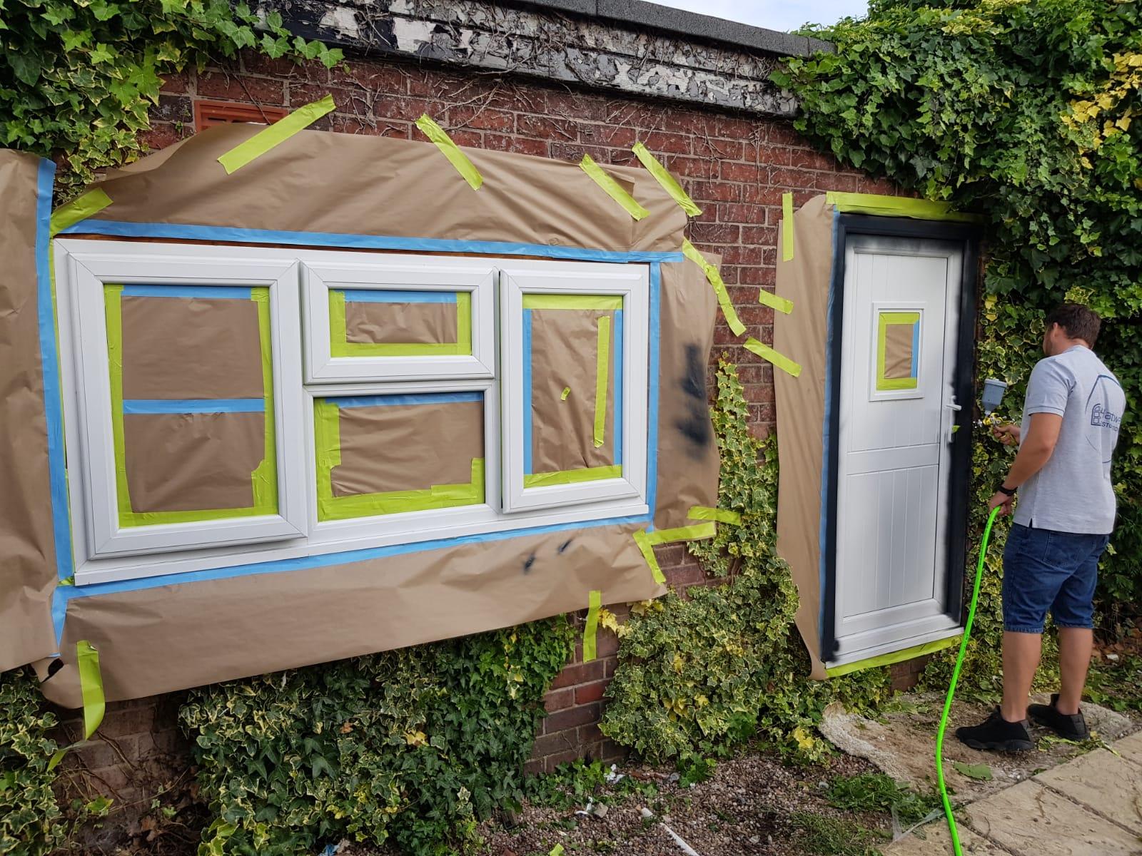 Onsite Window Spraying York