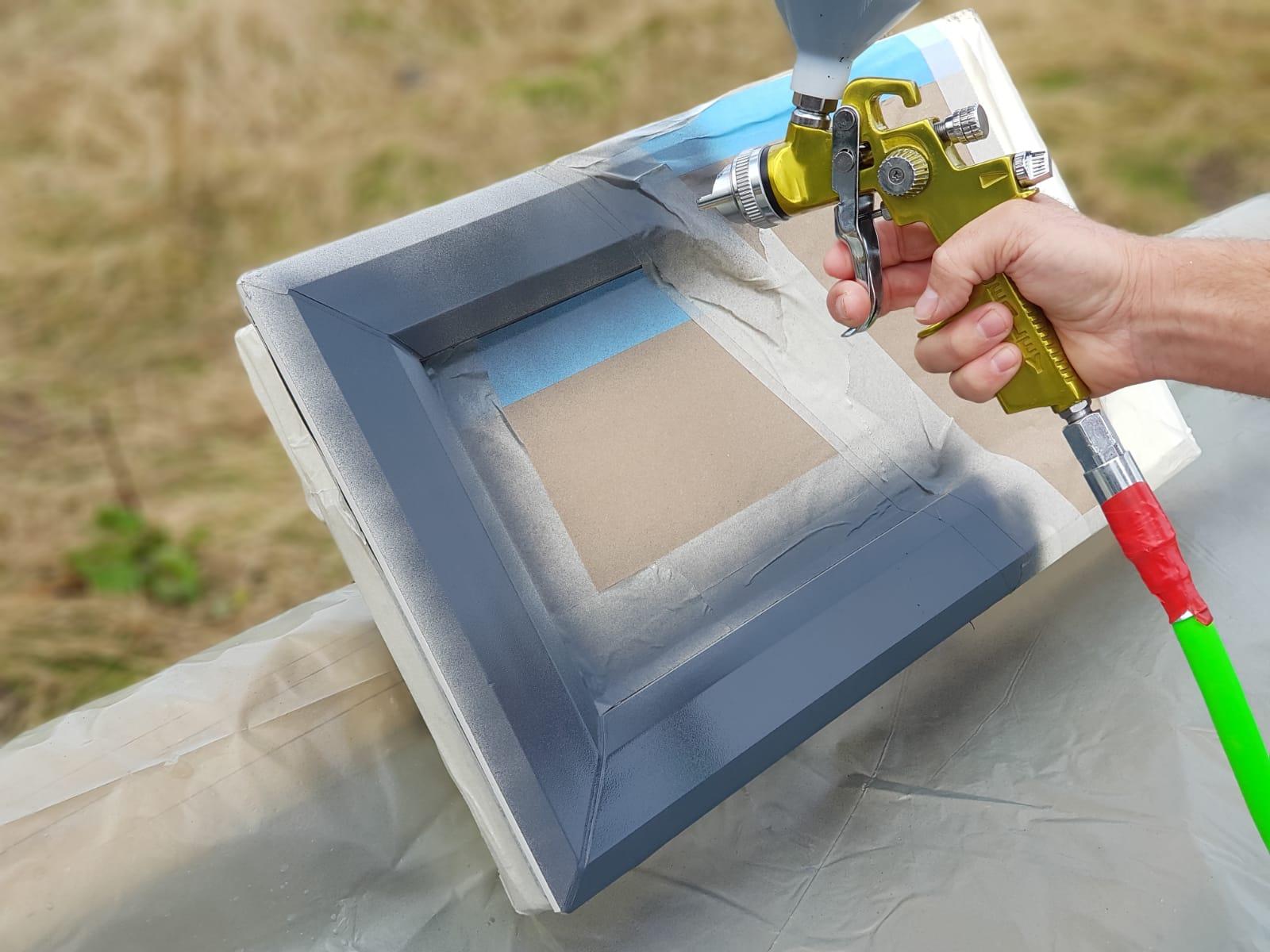 Painting UPVC Windows in York