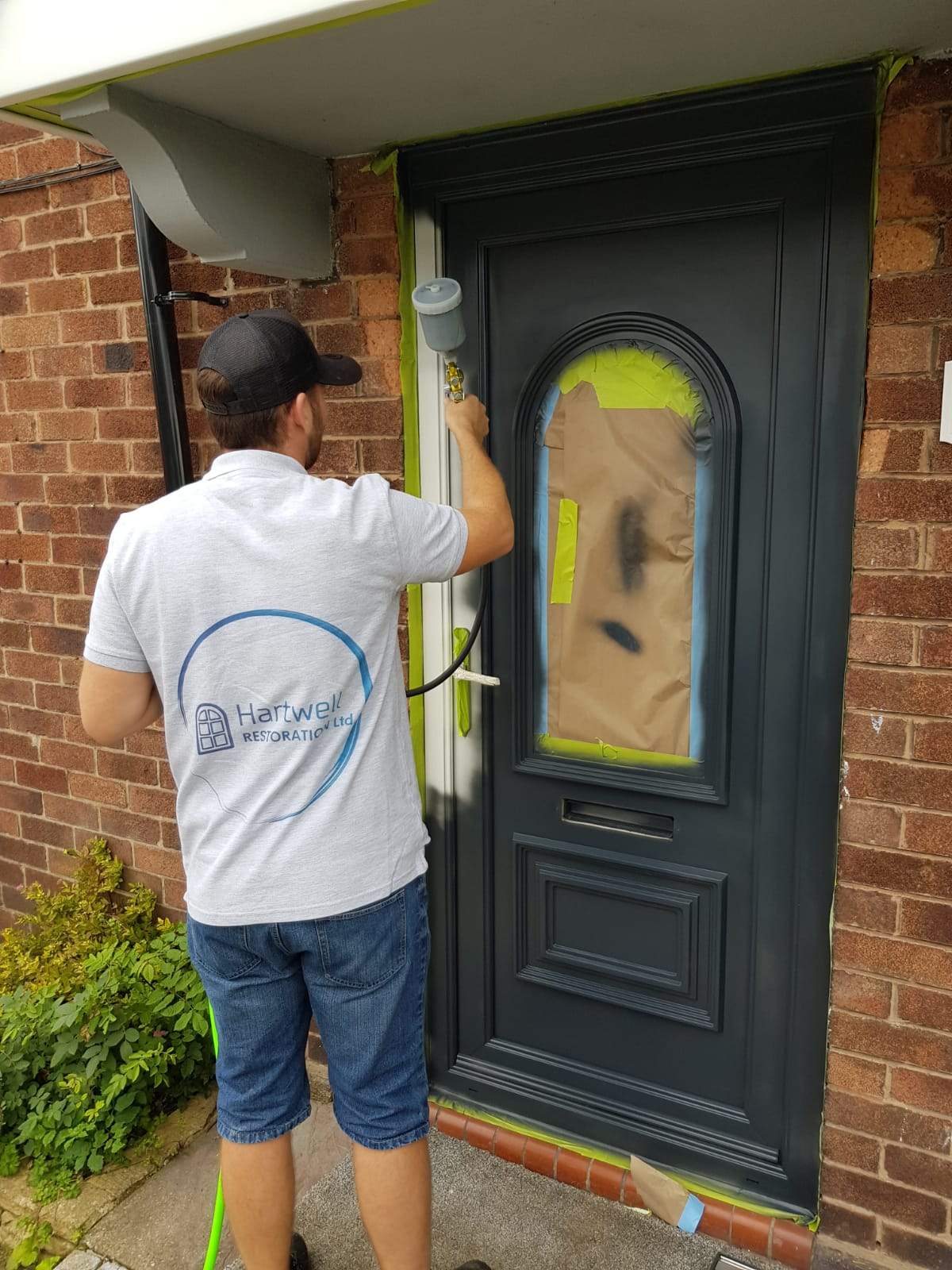 UPVC Conservatory Painting in York